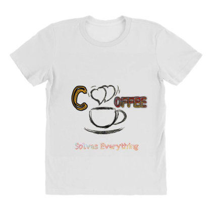 A Cup Of Coffee All Over Women's T-shirt Designed By Hu