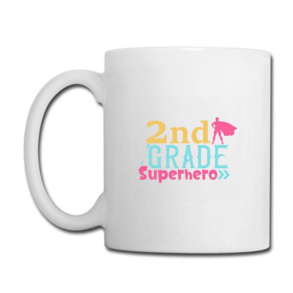 2nd Grade Superhero Color Coffee Mug Designed By Kahvel