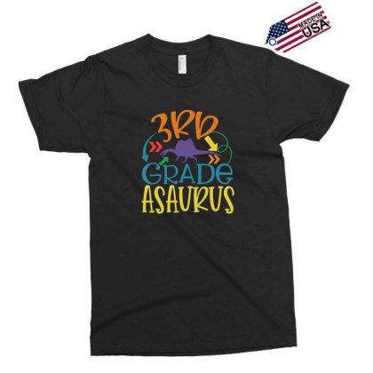 3rd Grade Asaurus Exclusive T-shirt Designed By Kahvel
