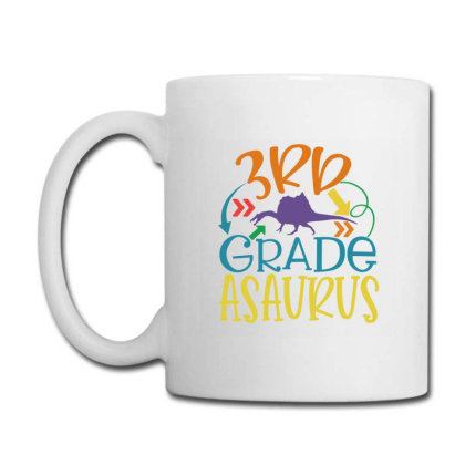 3rd Grade Asaurus Coffee Mug Designed By Kahvel