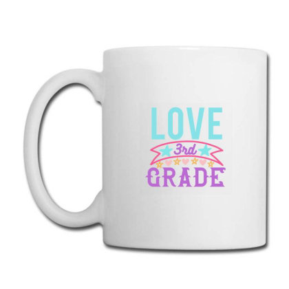 3rd Grade Love Coffee Mug Designed By Kahvel