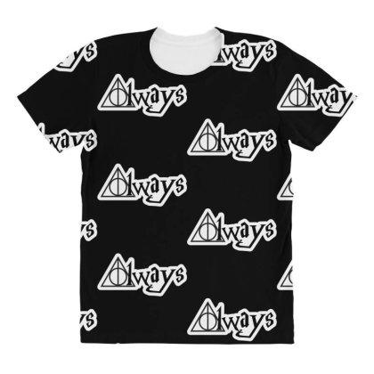 Always Harry Potter All Over Women's T-shirt Designed By Şen