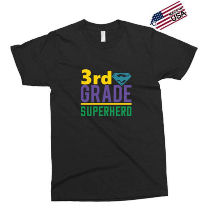 3rd Grade Superhero Exclusive T-shirt Designed By Kahvel