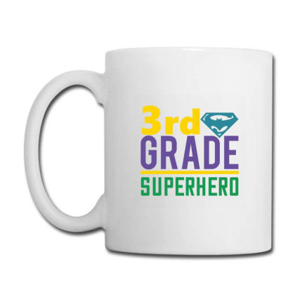 3rd Grade Superhero Coffee Mug Designed By Kahvel