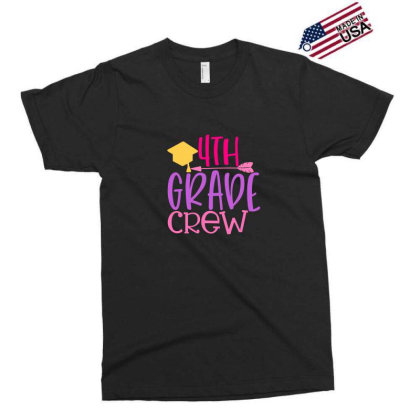 4th Grade Crew Exclusive T-shirt Designed By Kahvel