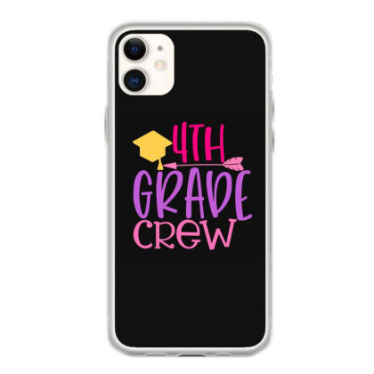 4th Grade Crew Iphone 11 Case Designed By Kahvel