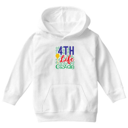 4th Life Grade Youth Hoodie Designed By Kahvel