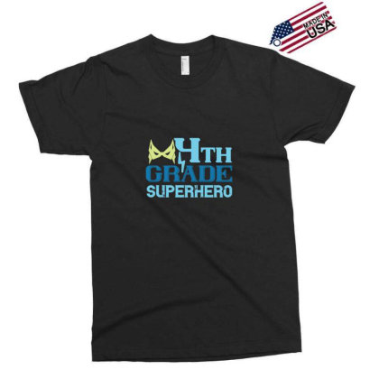 4th Grade Superhero 2 Exclusive T-shirt Designed By Kahvel