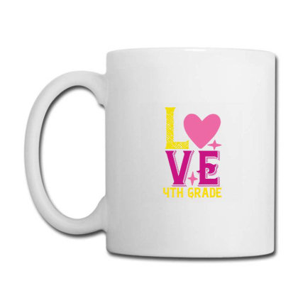 4th Grade Love Coffee Mug Designed By Kahvel