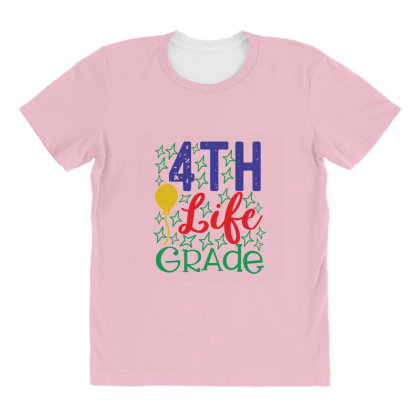 4th Life Grade All Over Women's T-shirt Designed By Kahvel