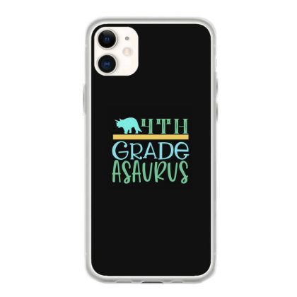 4th Grade Asaurus Iphone 11 Case Designed By Kahvel