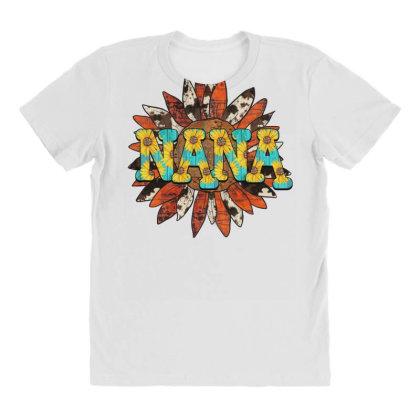 Nana Sunflower All Over Women's T-shirt Designed By Badaudesign