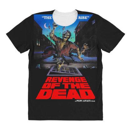 Revenge Of The Dead. Pupi Avati All Over Women's T-shirt Designed By Activoskishop