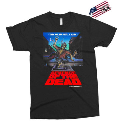 Revenge Of The Dead. Pupi Avati Exclusive T-shirt Designed By Activoskishop