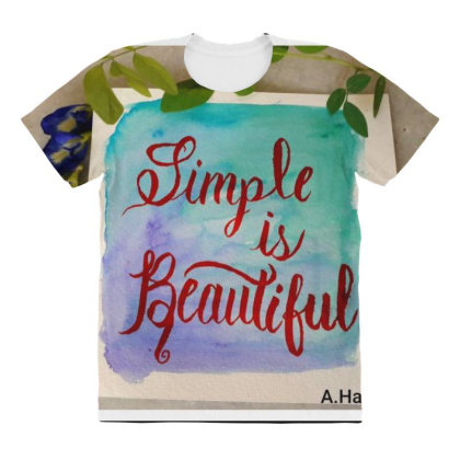 Img 20210223 211032 137 All Over Women's T-shirt Designed By Fabicryllic Art