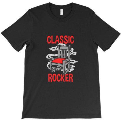 Classic Rocker T-shirt Designed By Onzin
