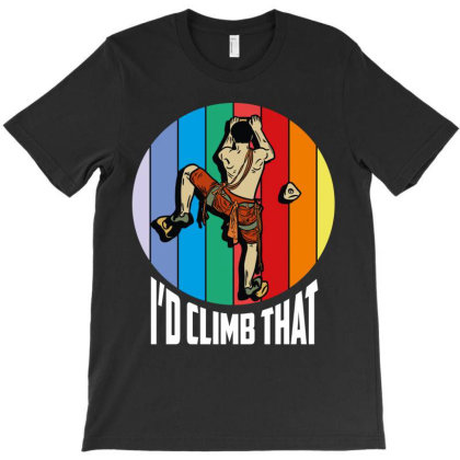 I Had Climb That T-shirt Designed By Wizarts