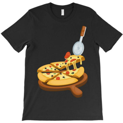 Pizza T-shirt Designed By Wizarts
