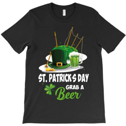 St Patricks Beer T-shirt Designed By Wizarts