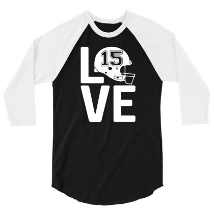 Chief Love Kansas City Football Pajamas Quarterback Patrick 3/4 Sleeve Shirt Designed By L4l4pow
