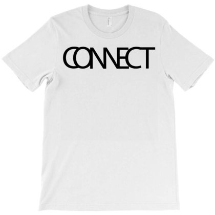 Connect Typography T-shirt Designed By L4l4pow