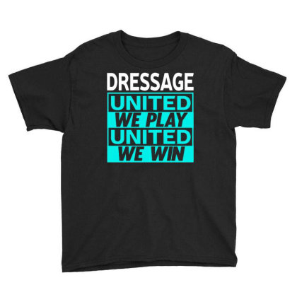 Dressage Youth Tee Designed By L4l4pow