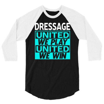 Dressage 3/4 Sleeve Shirt Designed By L4l4pow