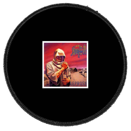 Death Leprosy Band 1988 Round Patch Designed By Tasha
