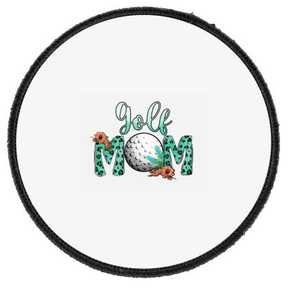 Golf Mom Round Patch Designed By Apollo