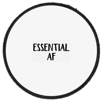 Essential Af Round Patch Designed By Andromeda
