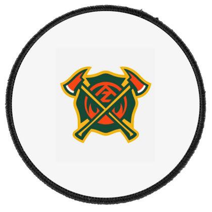 Arizona Hotshots Logo Round Patch Designed By Tasha