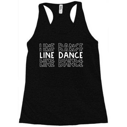 Line Dance Fan Racerback Tank Designed By L4l4pow