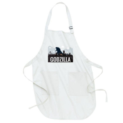 Godzilla Full-length Apron Designed By Şen