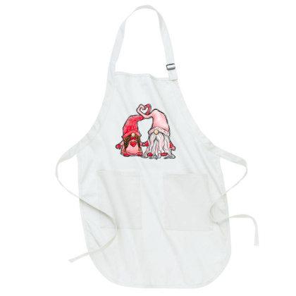 Valentines Day Gnome Full-length Apron Designed By Badaudesign