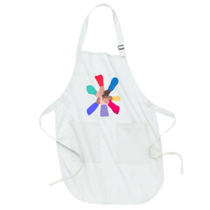 Support All Women Full-length Apron Designed By Akin