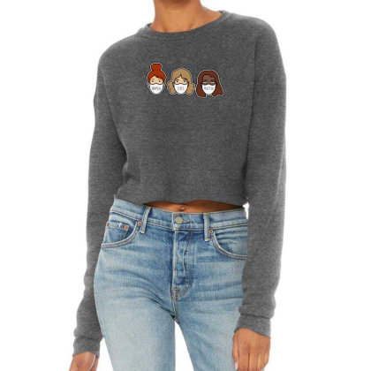 Women Lives Matter Cropped Sweater