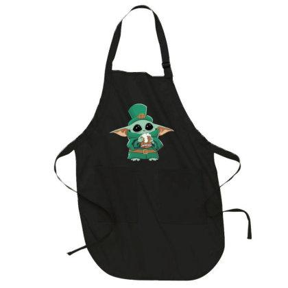 Baby Yoda Patrick's Day Full-length Apron Designed By Li Ova