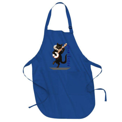 Funny Cat  T-shirt For T-shirt Lover Full-length Apron Designed By Tanvirr