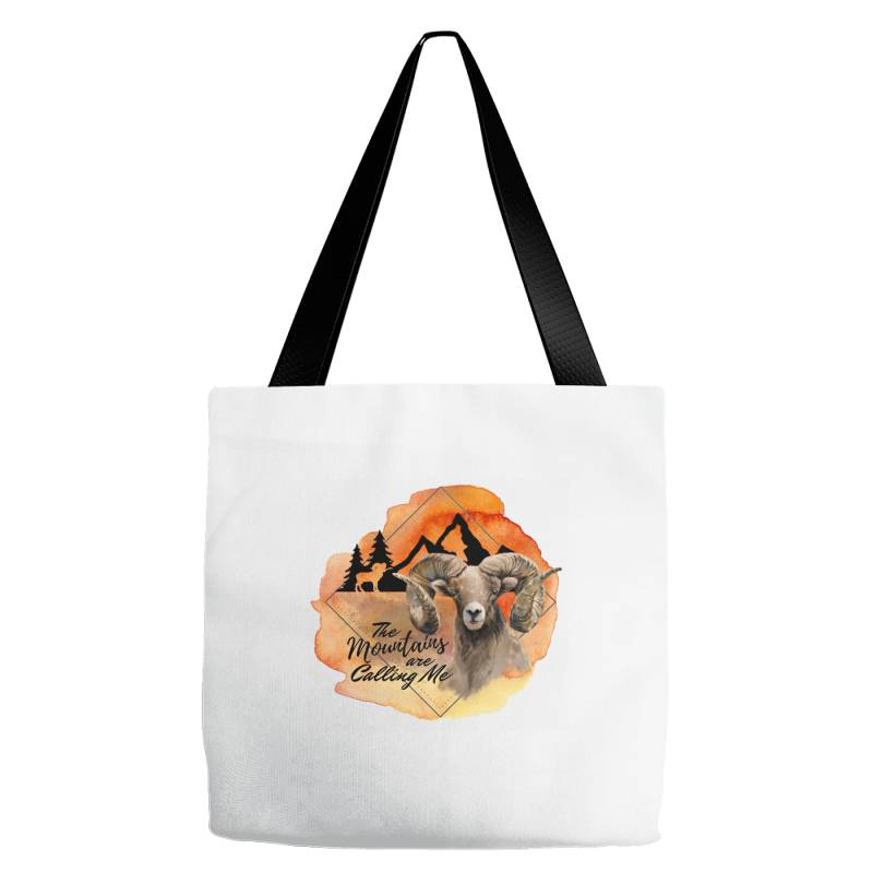 The Mountains Are Calling Me Tote Bags | Artistshot