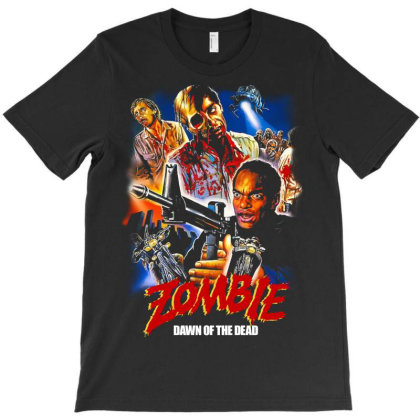 Zombie. Dawn Of The Dead T-shirt Designed By Activoskishop
