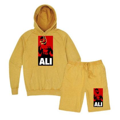 Muhammad Ali Vintage Hoodie And Short Set Designed By Tshiart