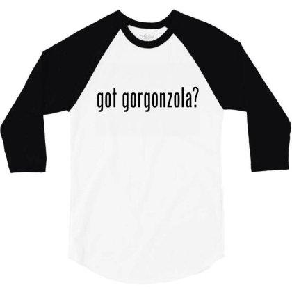 Got Gorgonzola Retro Advert Ad Parody 3/4 Sleeve Shirt Designed By Ooredoo
