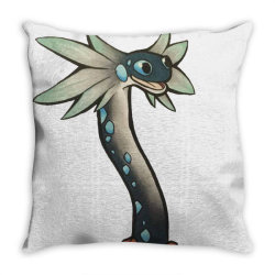 the wiggle worm Throw Pillow   Artistshot