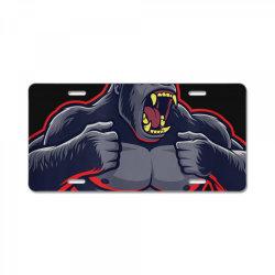 team kong true king of monsters t shirt License Plate | Artistshot