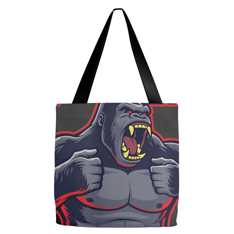 Team Kong True King Of Monsters T Shirt Tote Bags | Artistshot