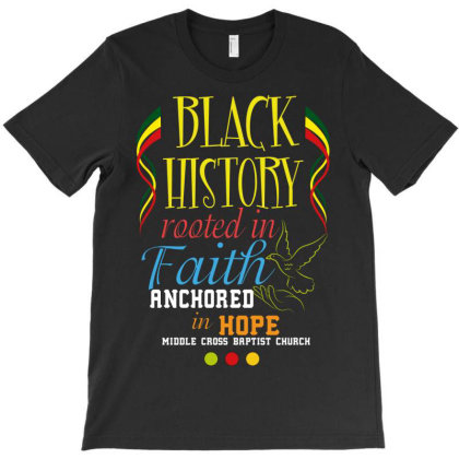Black History Rooted In Hope T-shirt Designed By Wizarts