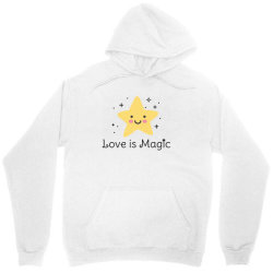 Love is magic, Star Unisex Hoodie | Artistshot