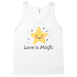 Love is magic, Star Tank Top | Artistshot