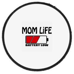Camisas Mom Life Round Patch Designed By Sugarmoon