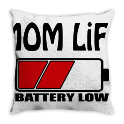 camisas mom life Throw Pillow | Artistshot